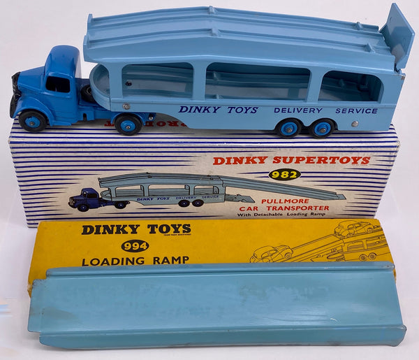 Original Boxed Dinky 982 Pullmore Car Transporter