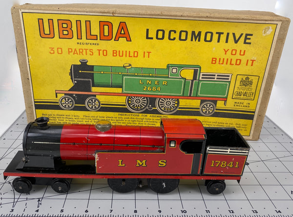 Boxed Ubilda Clockwork 1950's Train