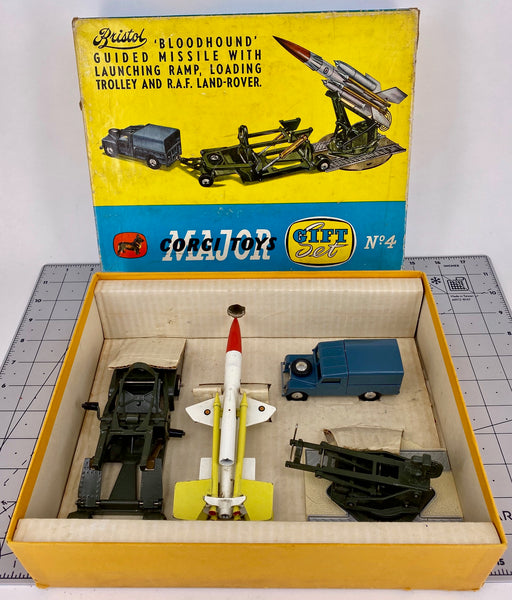 Corgi Gift Set 4 - Bloodhound Guided Missile Set