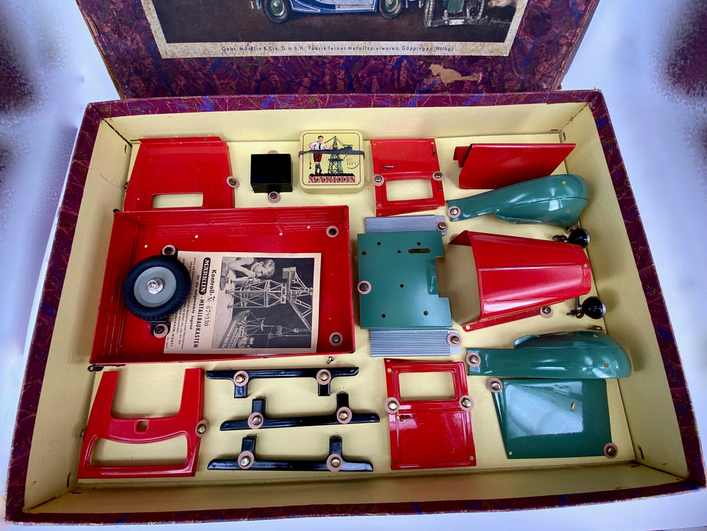 Marklin 1930's Boxed Construction Kit Car Truck 1105L