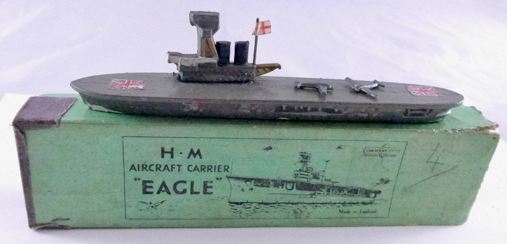 Boxed Crescent Toys HM Aircraft Carrier Eagle 1935