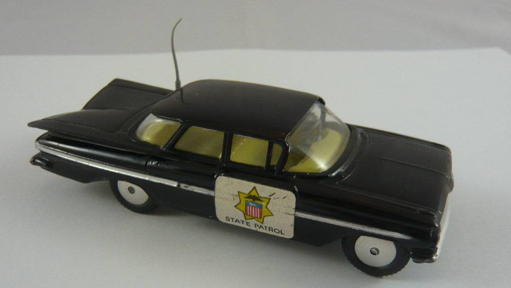 Original Boxed Corgi 233 Chevrolet State Patrol car