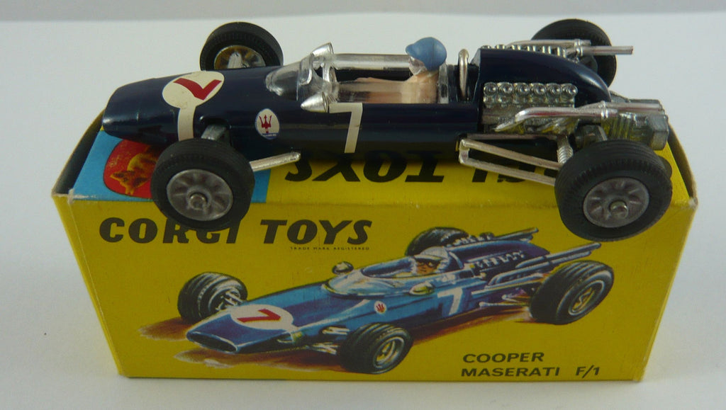 Original Corgi 156 Boxed Cooper Maserati F1 Racing Car