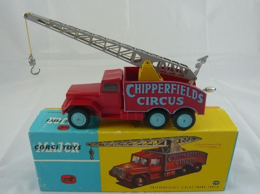 Original Corgi 1121 Boxed Chipperfields Circus Crane