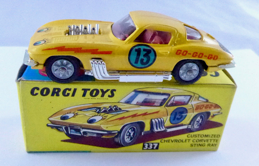 Boxed Corgi 337 Customised Chevrolet Corvette