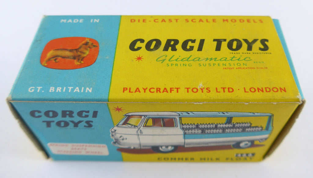 Original Boxed Corgi 466 Commercial Milk Truck