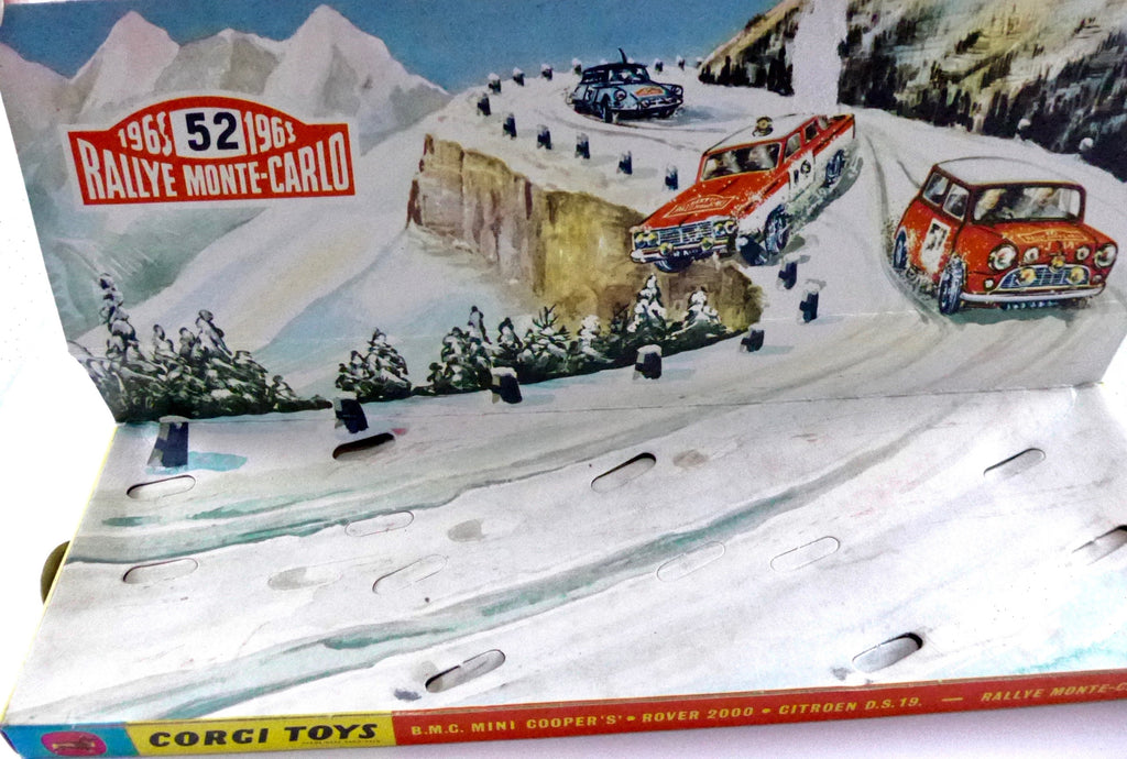 Boxed Original Corgi Gift Set 38 Monte Carlo Rally