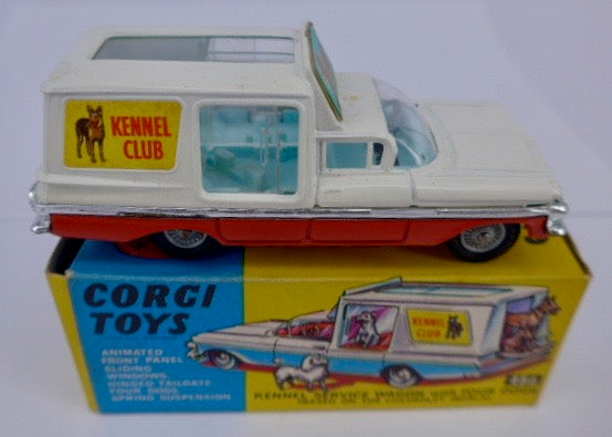 Boxed Corgi 486 Chevy Kennel Club