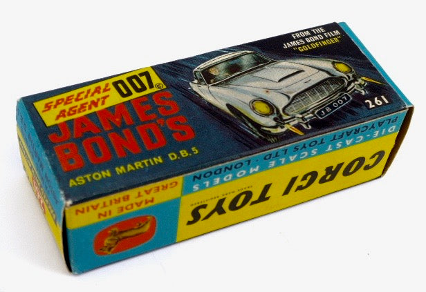 Original Boxed Corgi 261 James Bond Aston Martin