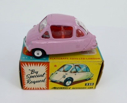 Original Boxed Corgi 233 Heinkel Bubble Car