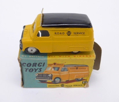 Original Boxed Corgi 408 AA Bedford Road Sevices Van