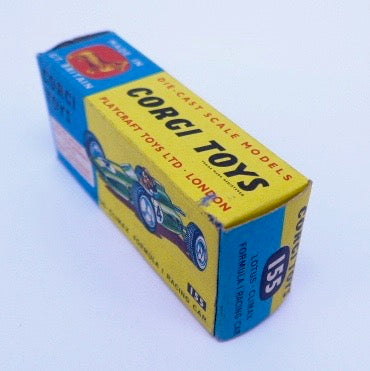 Original Empty box Corgi 155 Lotus Climax F1 Racing Car
