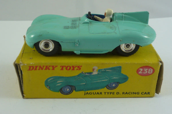 Original Dinky Boxed  Jaguar Type D Racing Car