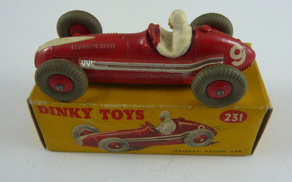 Original Dinky 231 Boxed Maserati Racing Car