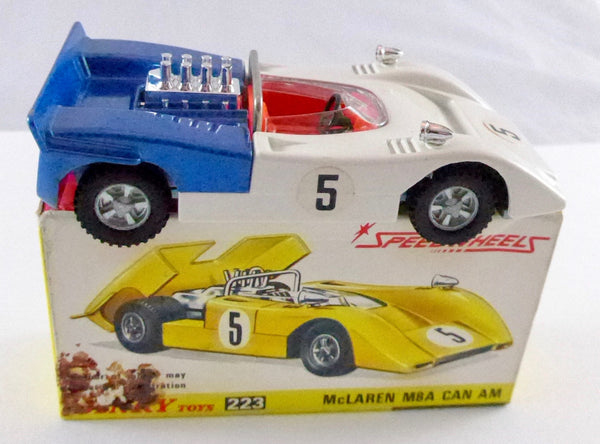 Boxed Dinky 223 McLaren M8A Can Am