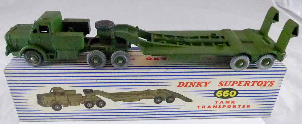 Boxed Dinky 660 Tank Transporter