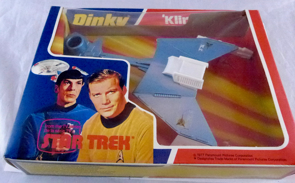 Boxed Dinky 357 Klingon Battle Cruiser