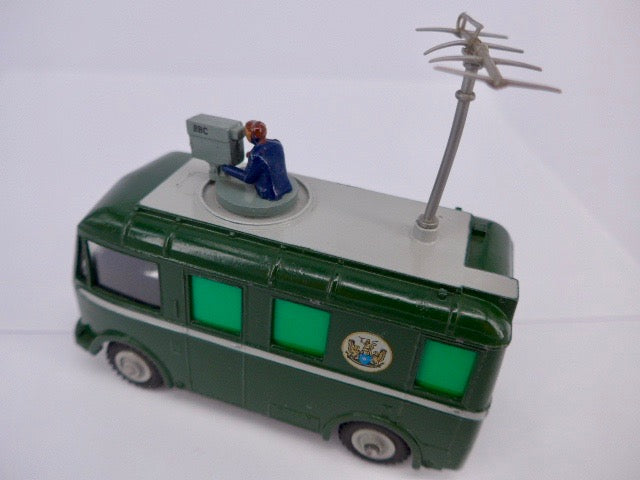 Original Boxed Dinky 968 BBC TV Roving Eye Vehicle