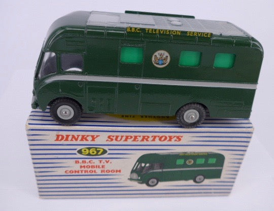 Original Boxed Dinky 967 BBC TV Mobile Control Room