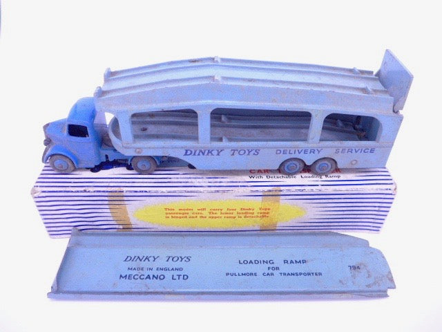 Original Part Boxed Dinky 982 Pullmore Car Transporter
