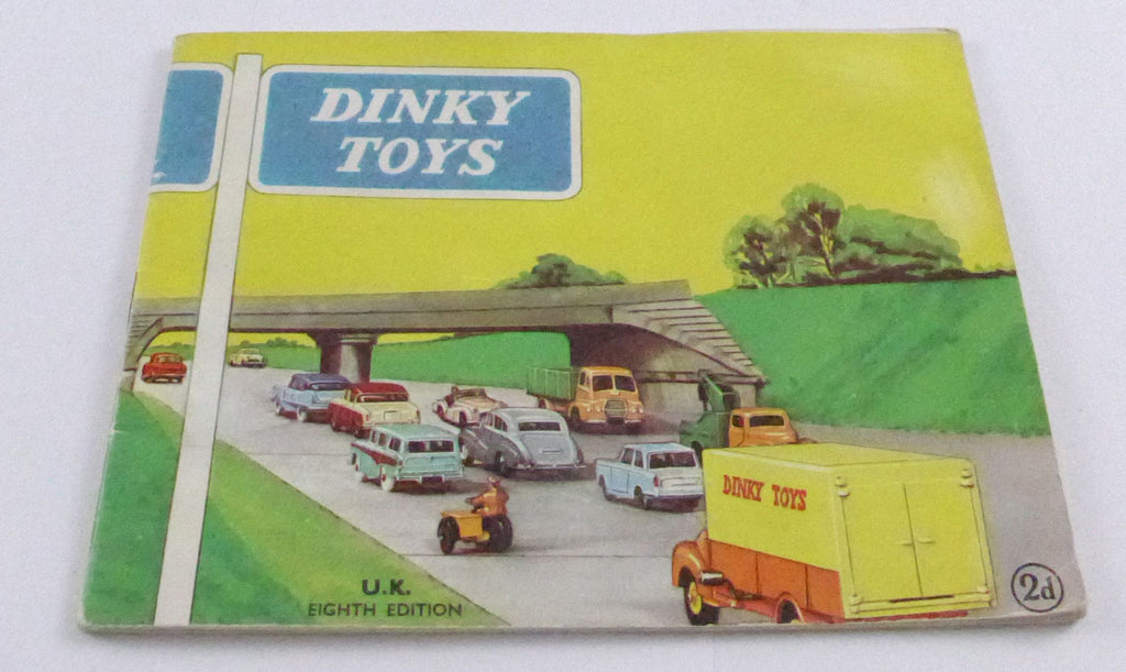 Original Dinky Toys Eighth Edition Catalogue