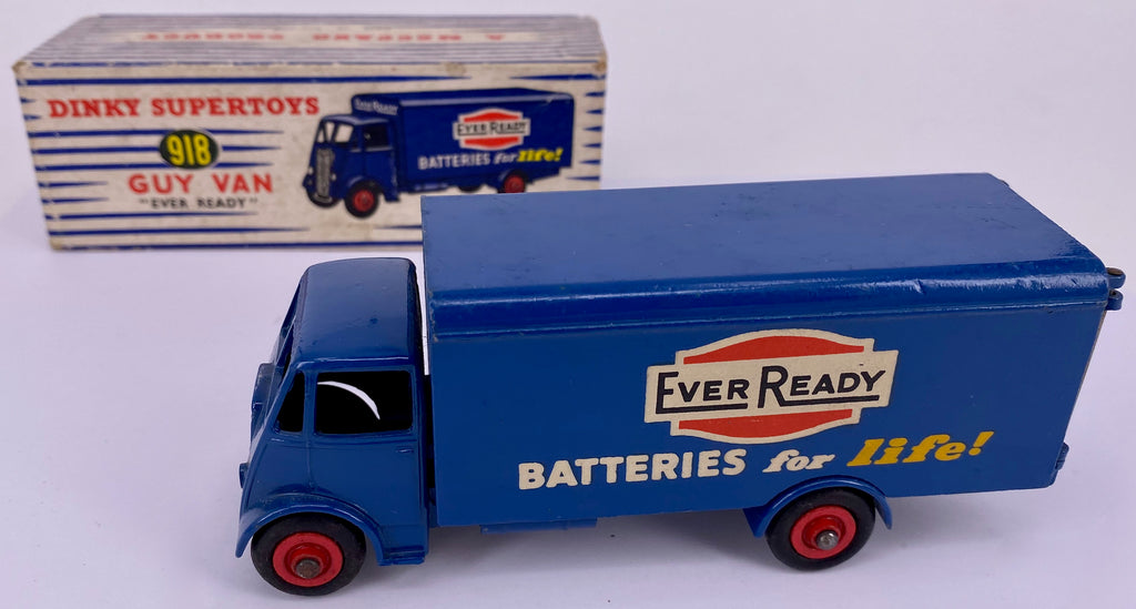 Dinky Supertoys  918 Every Ready Batteries for Life , boxed, original