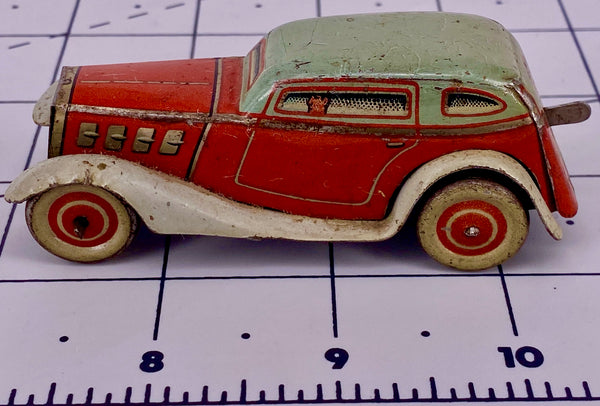 Tipp & Co Clockwork Tinplate Passanger Car