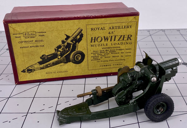 "Britains 1725 Royal Artillery 4.5"" Howitzer"