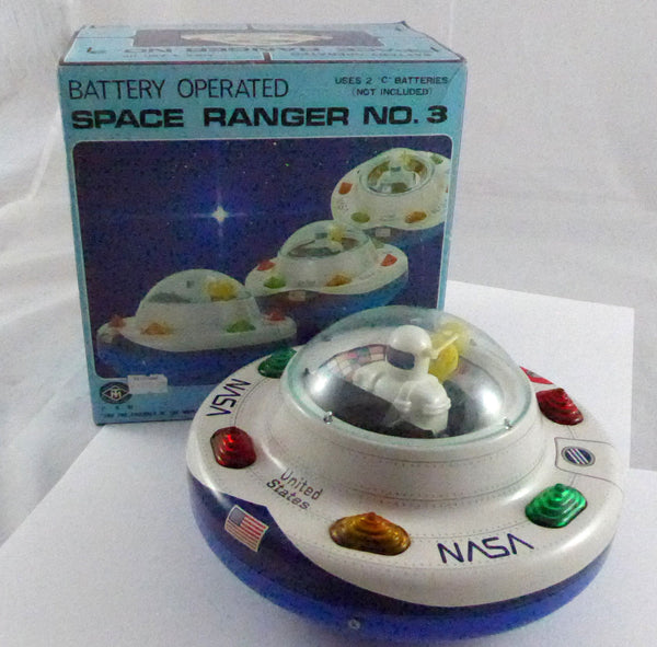 Original Boxed Masudaya ( Modern Toys ) Space Ranger No3 NASA
