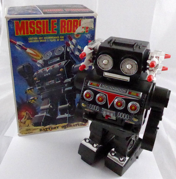 Original Boxed Missile Robot by S H Horikawa