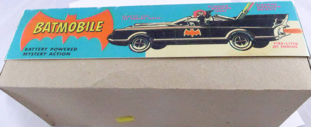 Boxed ASC Asohin Red Batmobile - 1960s