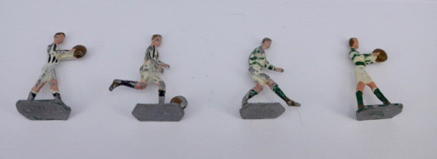 Four Lead Footballers