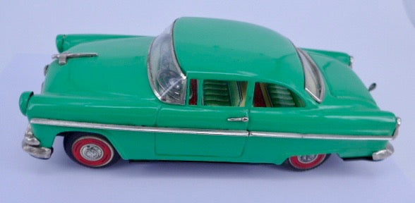 Original Boxed Asahi (ATC) 1955 Ford Tinplate Musical Car