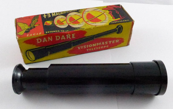 Boxed Dan Dare Selco Telescope 1950's