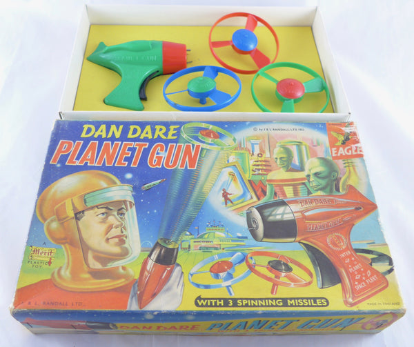 Original boxed Merit Dan Dare Planet Gun 1950's