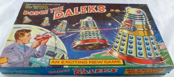 Original Dodge the Daleks 1965 Board Game