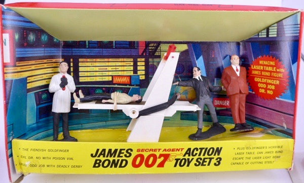 James Bond Gilbert Action Toy Set No 3