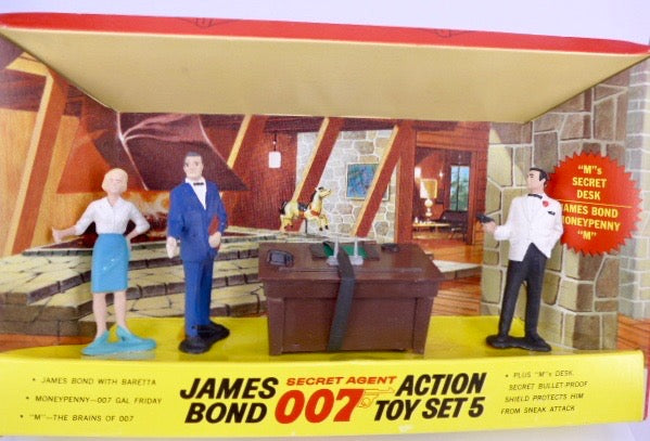 James Bond Gilbert Action Toy Set No 5