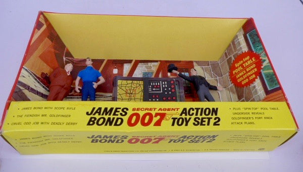 James Bond Gilbert Action Toy Set No 2
