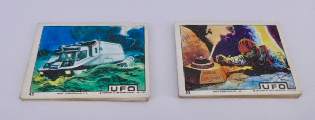 1970 UFO TV Series Angelo Confectionery  FULL SET 64 cards