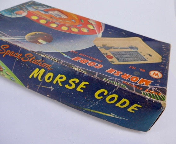1950's  Space Toy Morse Code Signalling Set 107