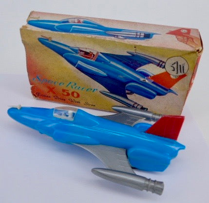 Original Boxed 1960's Space Toy X Series Space Racer ( X50 )