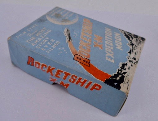 1950's Cinema Space Toy Film Strips Viewer Rocketship X-M