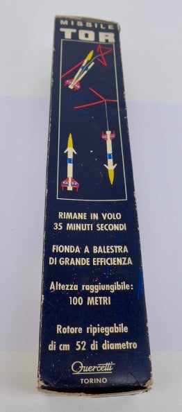 Fuercetti ( Italy ) Tor Missile Space Toy 1960's
