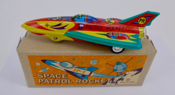 Sanko Space Patrol Rocket Space Toy