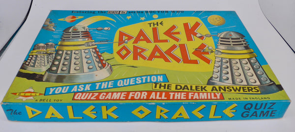 Bell Toy Dalek Oracle 1965 Dr Who Board game boxed, very rare