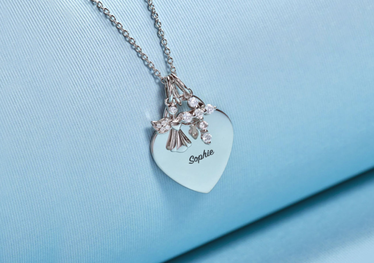 Personalized baby jewelry - Choose from engraved baby bracelets in gold & sterling silver