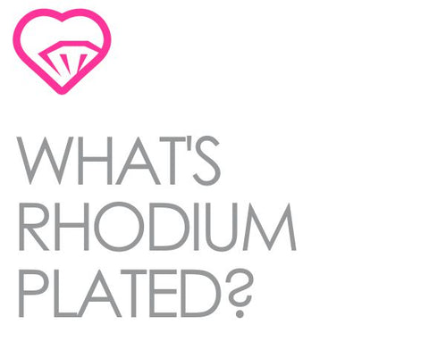 what is rhodium plated