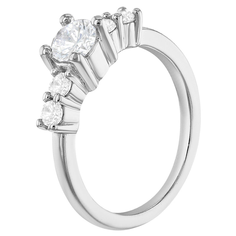 Crystal Solitaire Toddler Rings For Girls In Season Jewelry