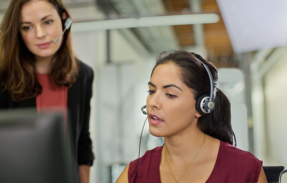 Corded Contact Center Headsets